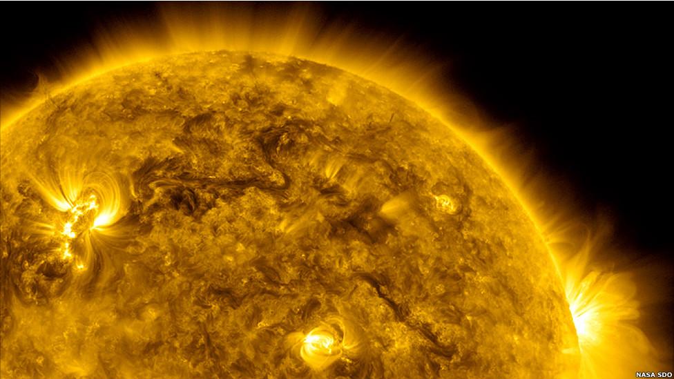 Resultado de imagen de Las protuberancias de plasma del Sol
